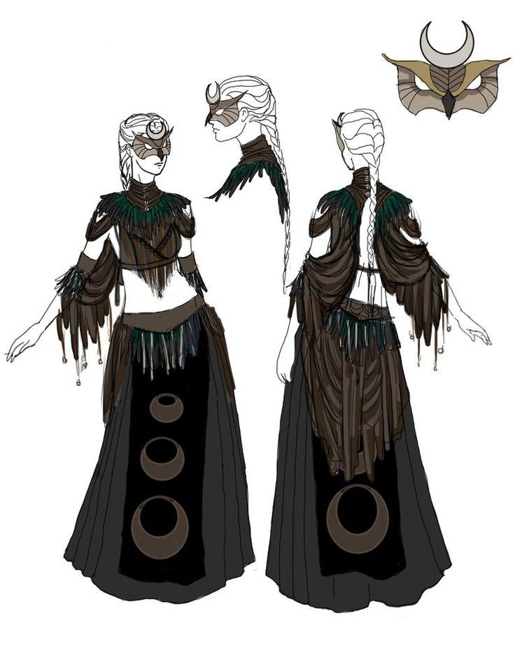 Owl Priestess by IzzyLawlor on deviantART