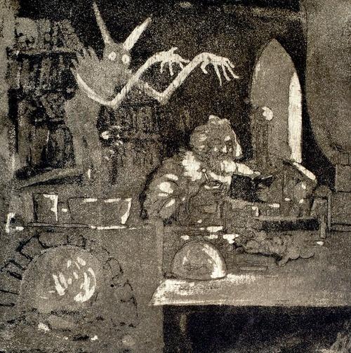 #Josef Váchal #Alchemist #1910