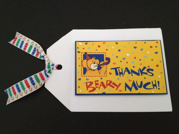 Build A Bear Thank You Note by WriteInvites on Etsy