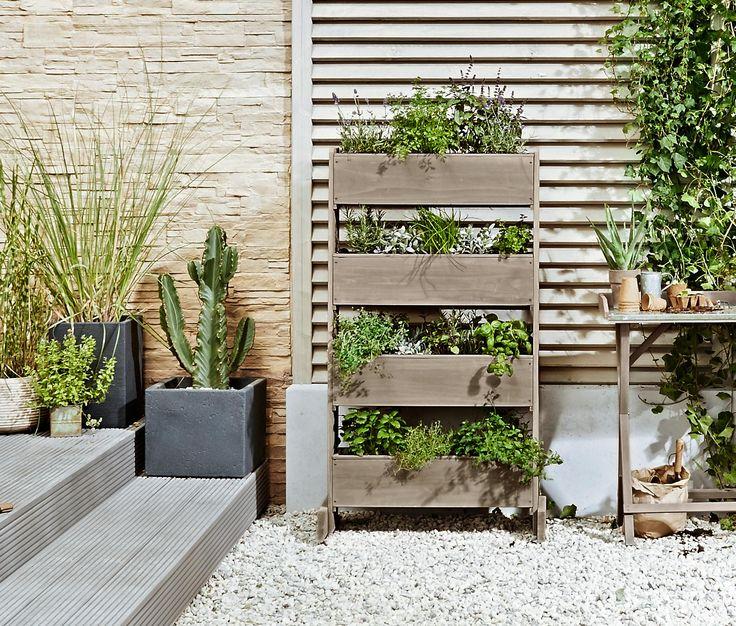 Vertikalni Zahon Zahrada Zahrada Na Balkone Rostliny