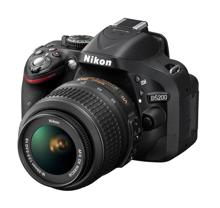 DSLR D5200 by Nikon. The Nikon D5200 is a digital SLR camera that is designed to meet the desires of your creativity. Discover a new perspective with an ultra-high-resolution vari-angle screen that you can rotate to different positions. Snap stunning images via DX-format CMOS sensor resolution of 24.1 megapixels and share directly through WU-1a Wireless Adapter. Optimized for creativity and efficient for flexibility, Nikon D5200 digital SLR camera can be an option for you lovers of…