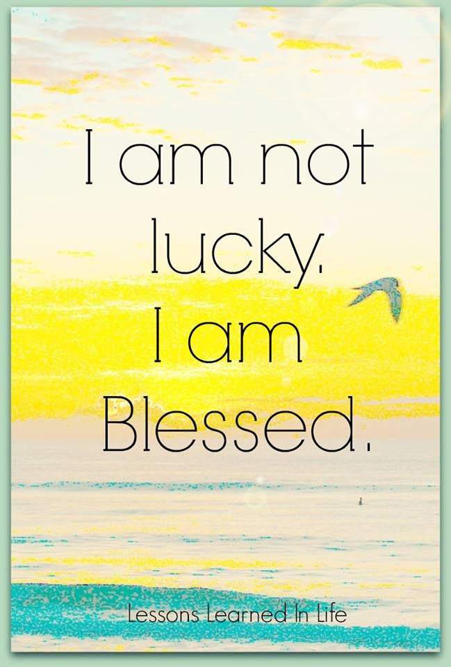 i am blessed quotes - photo #19