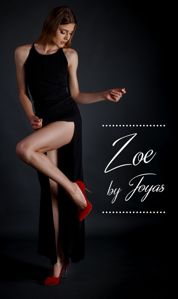 The red Zoe stilettos made of  suede will highlight your festive look @joyasromania