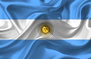 South America visa Argentina flag