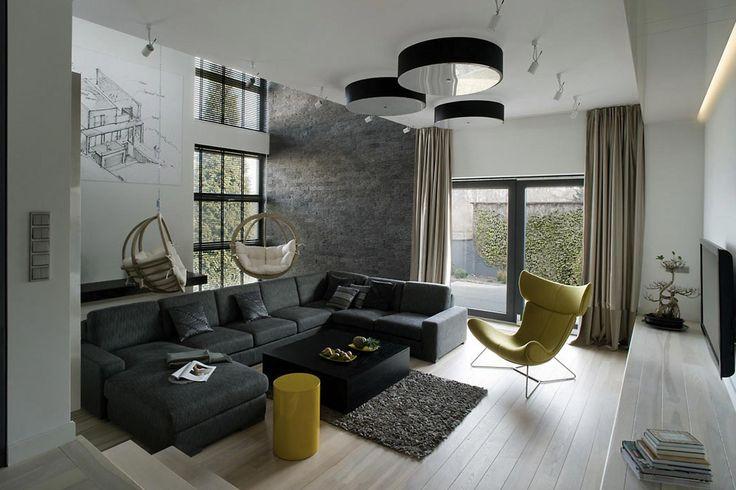Projekt wnętrza Minimal w Ozorkowie - ostatnie realizacje - Anna Koszela Studio Projektowe Warszawa