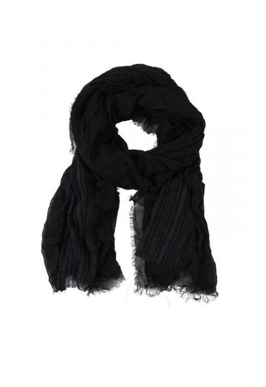 Amust Bettina scarf 0360-N black - Accessories - MaMilla