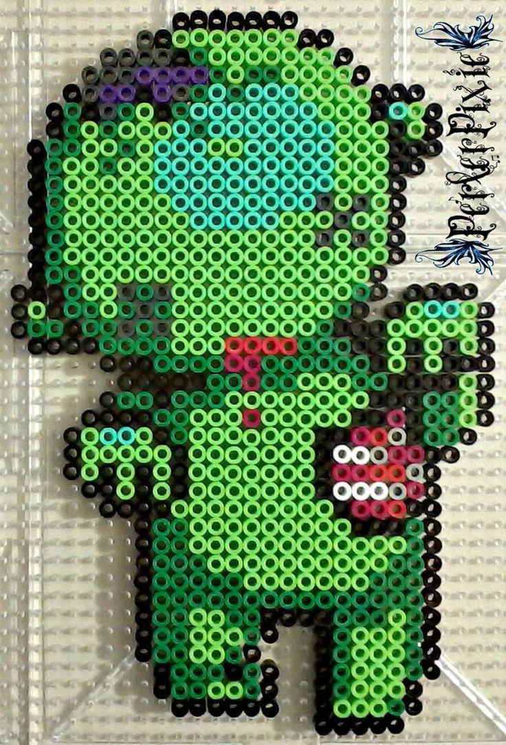 As requested byhere's another cute little zombie! This one isn't that much different from the other one. Just a few details where changed. Link to Bleeding Heart Zombi...