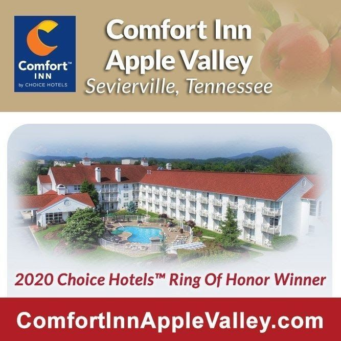 2020 Ring Of Honor Winner Comfort Inn Apple Valley In 2020 Vacation Trips Smoky Mountains Vacation Wilderness At The Smokies