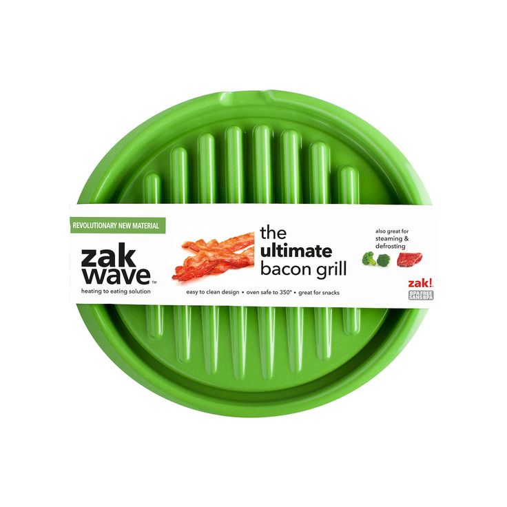 Zakwave Microwave Bacon Tray will really step up your Brunch skills. #ElderBeerman #BrunchLife