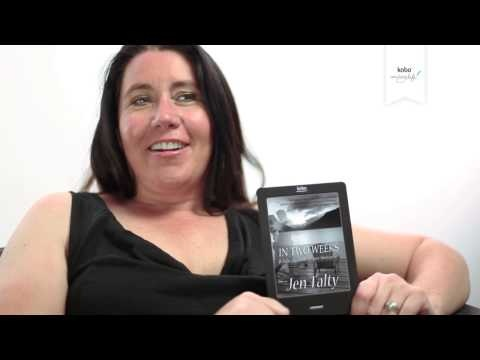 Jen Talty, author of In Two Weeks, Whispers and Rekindled talks about digital publishing, what inspired her to write, and using Kobo Writing Life to get her titles into Kobo's global catalog.    In Two Weeks - http://www.kobobooks.com/ebook/In-Two-Weeks/book-5Npak4WQpkikJtX_R5Iizw/page1.html    Whispers - http://www.kobobooks.com/ebook/Whispers/book-N_NRneXa7UC6WclHta15Ng/page1.html    Rekindled - http://www.kobobooks.com/ebook/Rekindled/book-q2EltK9VnUqgjcGuymRdzg/page1.html