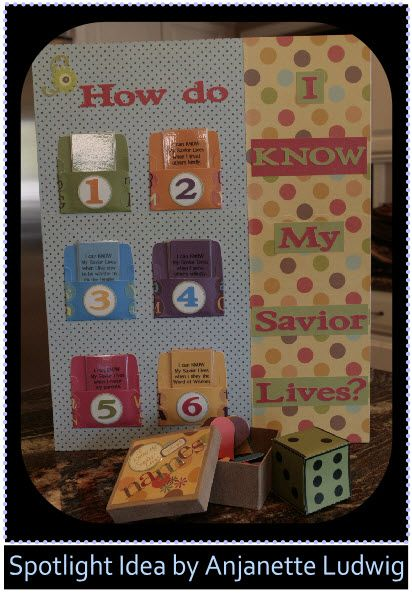 How do I know my Savior lives? - Spotlight Idea -- This link goes to the right place