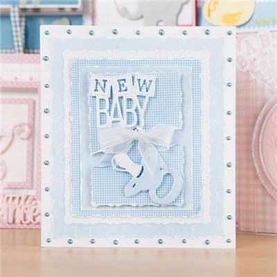 Tonic Rococo Baby and Sentiment Dies - Includes 13 Dies (365248) | Create and Craft