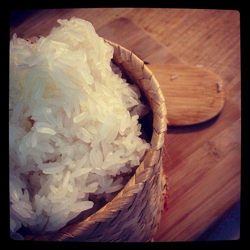 Comment faire du riz gluant