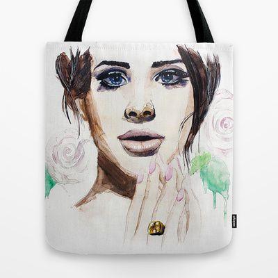 Lana Del Rey Tote Bag