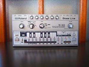 Roland TB-303 Bassline Analog Synthesizer - Fully Serviced
