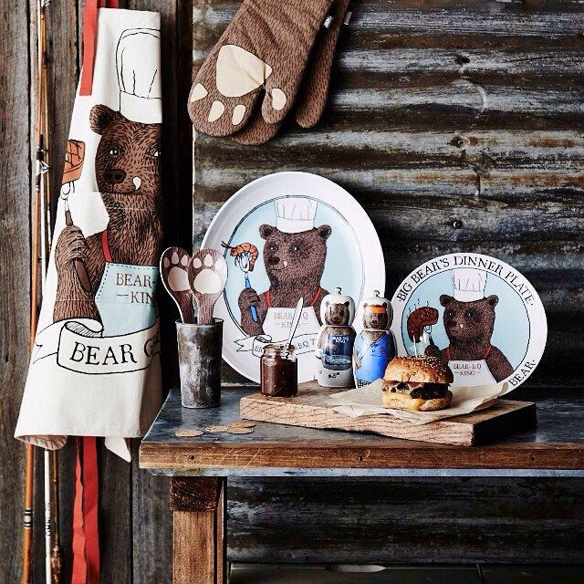 For the man who is unbearably tricky to buy for – our Big Bear range is solving gifting dilemmas with ease.  #bigbear #fathersday #moziaustralia #mangift #gifting #manlycooking