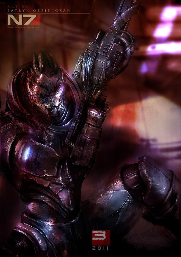 Mass Effect 3 Characters by Patryk Garrett