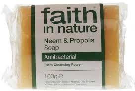Faith in Nature Neem & Propolis Pure Veg Soap 100g