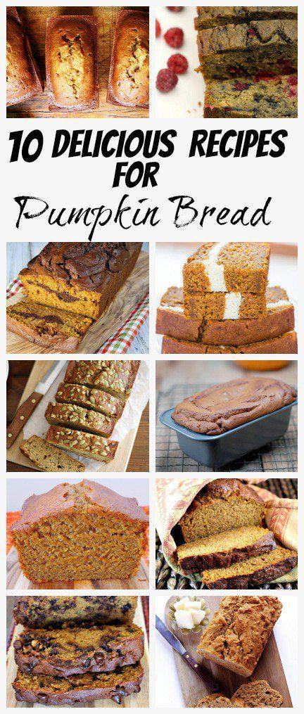 Pumpkin-Bread-Recipes