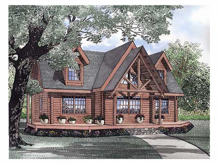 61 best Log House Plans images on Pinterest | Log homes, Attic and ...