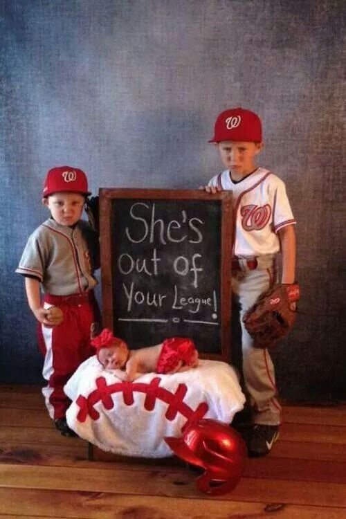 She's out of your league! Cute brother sister picture!