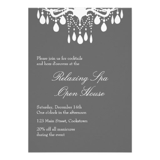17 Best images about Open House Business Invitations on ...