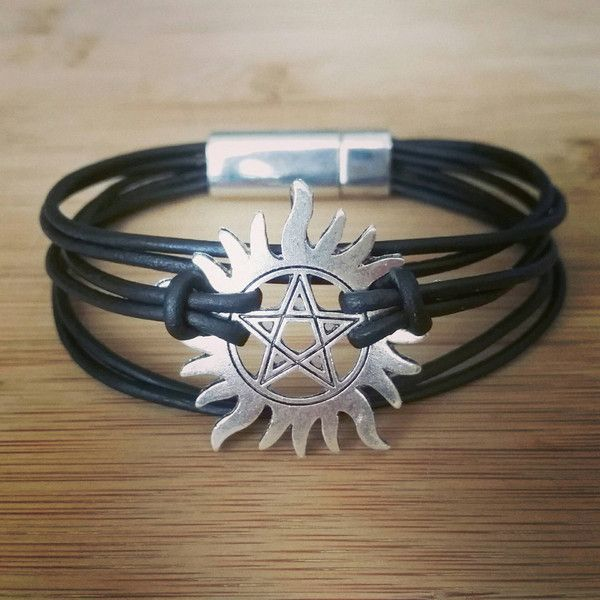 supernatural banishment bracelet ($25) ❤ liked on Polyvore featuring jewelry and bracelets