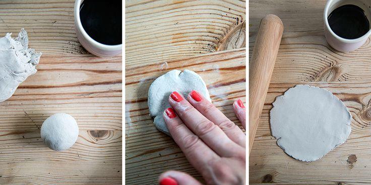 Lace Bowls Steps 1 through 3
