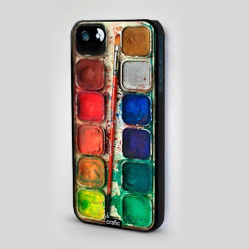 CRAFIC - Watercolor Set iPhone 5 Case By Crafic
