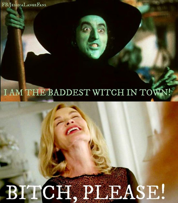 Best witch in town! Jessica Lange, American Horror Story: Coven.