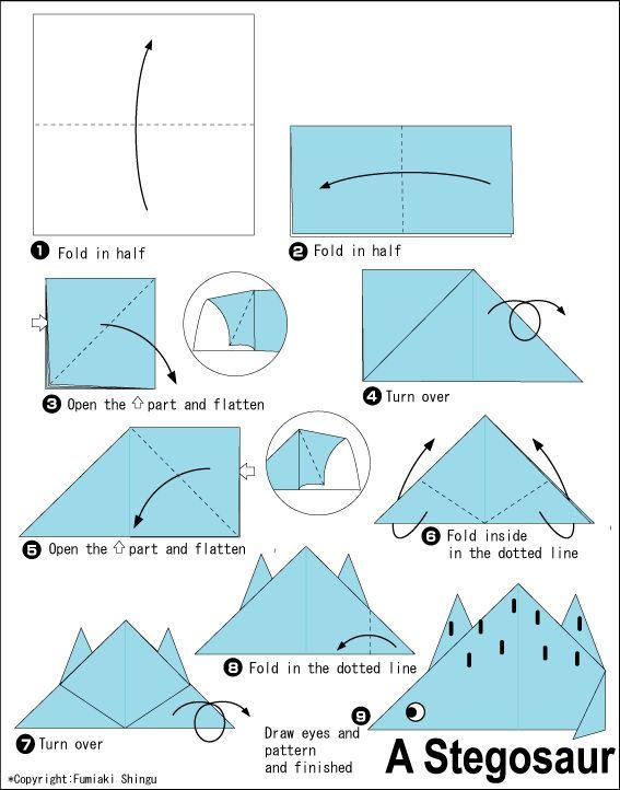 3d origami car instructions