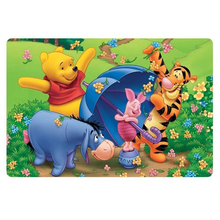 New Anti Slip The Pooh Bear Doormat Carpet For Living Room Bathroom,Entrance Door Mat 3d Cartoon Carpet Kitchen Rug Home Decor From Zxy3, $29.31 | Dhgate.Com