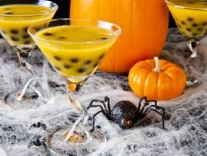 Black Magic Halloween Cocktail Recipe | Entertaining Ideas & Party Themes for Every Occasion | HGTV