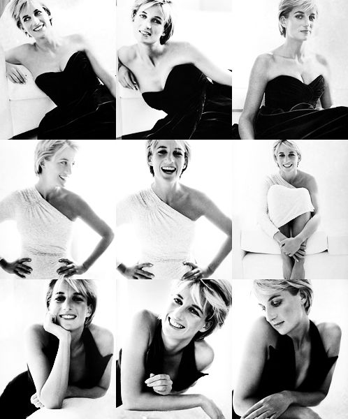 Princess Diana for Vanity Fair 1997, by Mario Testino