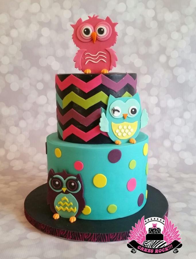 Rockin' Owls by Cakes ROCK!!!