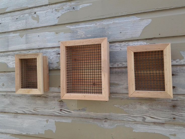 One And Two Rustic Cedar Rectangular Shaped Vertical Succulent Garden Wall  Planter Boxes. By BigfootWoodCrafts On Etsy