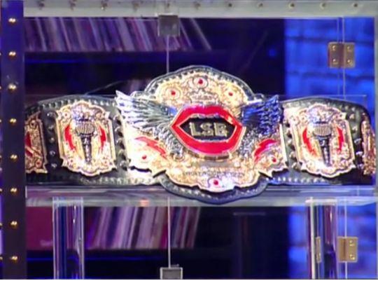 Lip Sync Battle Championship Belt