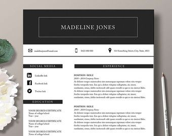 resume and cover letter template microsoft word template cv template 2 page resume. Resume Example. Resume CV Cover Letter