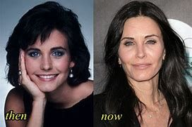 Image result for Courtney Cox Plastic Surgery