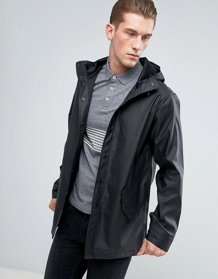 Buy Black Asos Raincoat for men at best price. Compare Coats prices from  online stores like Asos - Wossel Global