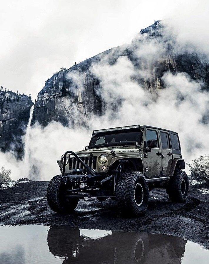 Jeep Wrangler In The Fog Dream Cars Jeep Jeep Photos Jeep