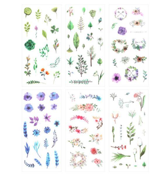 Wild Nature Sticker Set - In Bloom – Kawaii Pen Shop