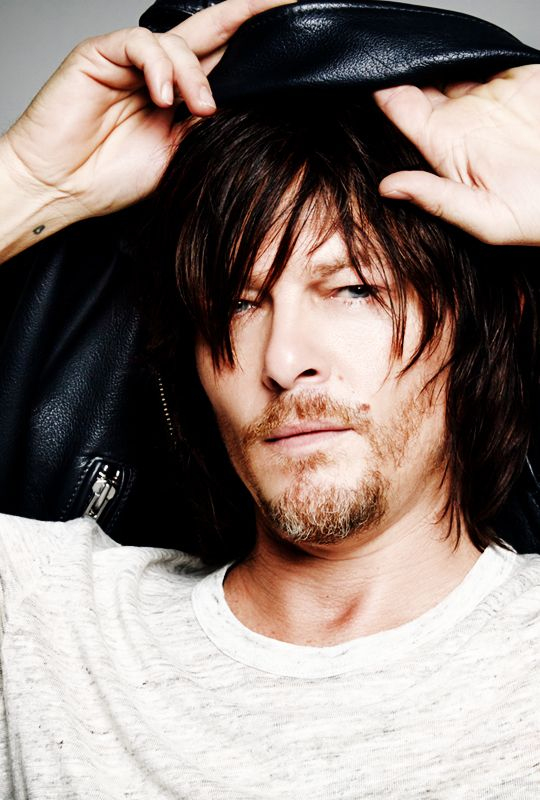 Norman Reedus: I love you so much I will eat you up ;)