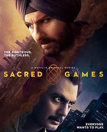 18+ Sacred Games  (2019) Season 1 Netflix WebDl Complete [All Episodes]
