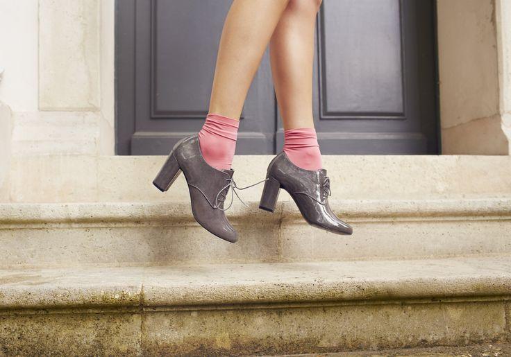 Derby talon ERAM #chaussures #derby #derbies #talons #mode #heels #happy