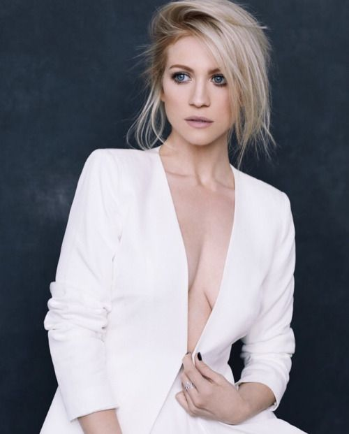 Beautiful brittany snow