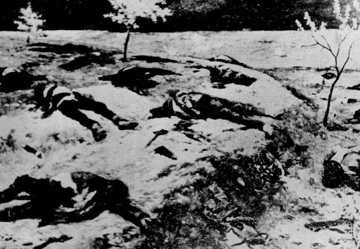 """On May 19, 1919, Mustafa Kemal himself disembarked at Samsous to begin organizing the final phase of the Pontian genocide.With the Greek army engaged in Anatolia, a new wave of deportations, mass killings, and """"preventative"""" executions destroyed the remnants of Pontian Hellenism. In the Amasia province alone, with a pre-war population of some 180,000, records show a final tally of 134,000 people liquidated."""