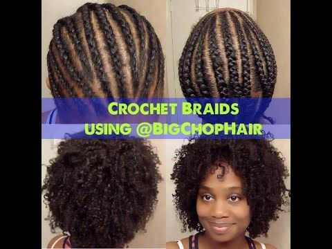 Youtube Crochet Hair : Crochet braids, Braids and Youtube on Pinterest