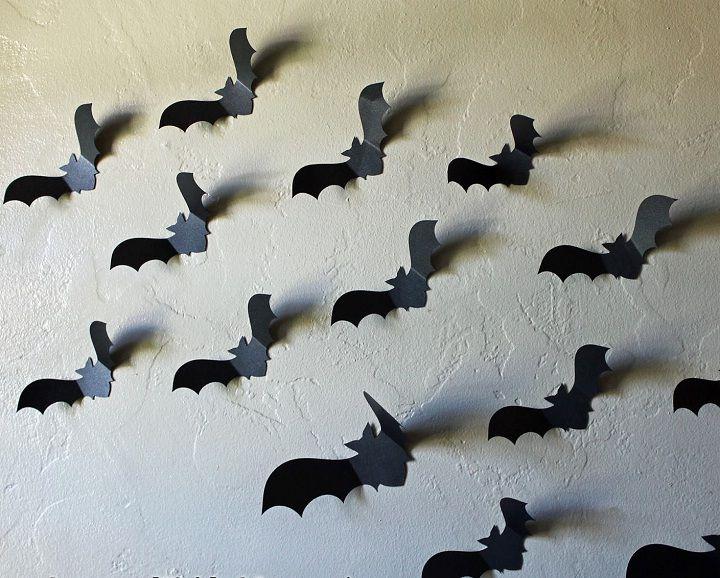 Pinterest Halloween Wall Decor : Image of bats on bat wall decor vbs