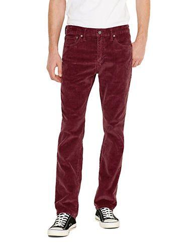 Pantalon en velours côtelé à jambe droite et étroite 513 | La Baie D'Hudson